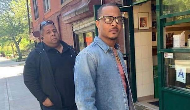 Noordin Said working with musician T.I. (Courtesy of Samantha Said)
