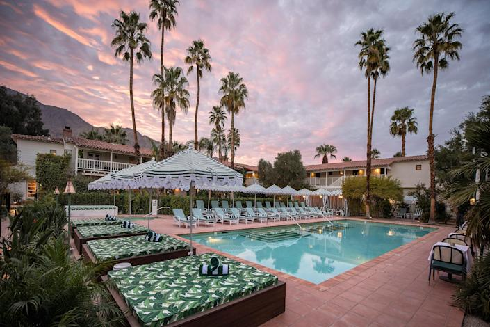 The Colony Palms is the latest desert design hotel.