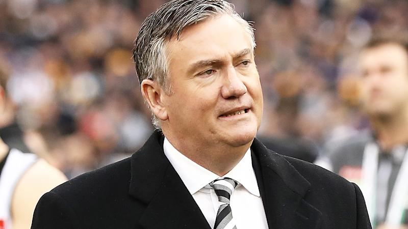Collingwood president Eddie McGuire is pictured at the MCG.