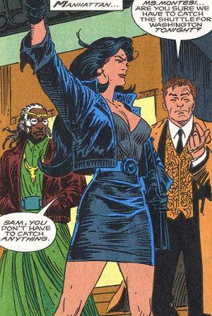 Victoria Montesi was the first lesbian character to be featured in a Marvel comic book. (Photo: Marvel)