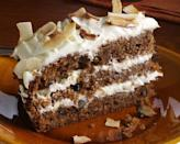 """<p>Yes, you could just roast them or turn them into soup, but why not transform your carrots into an indulgent cake topped with rick buttercream. Perfect with a cuppa on an autumnal afternoon, like <a href=""""http://www.deliciousmagazine.co.uk/recipes/paul-hollywoods-ultimate-carrot-cake/"""" rel=""""nofollow noopener"""" target=""""_blank"""" data-ylk=""""slk:Paul Hollywood's ultimate carrot cake"""" class=""""link rapid-noclick-resp"""">Paul Hollywood's ultimate carrot cake</a> in this recipe [Photo: Rex] </p>"""