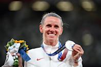 """<p>Biography: 28 years old</p> <p>Event: Women's 3000m steeplechase</p> <p>Quote: """"I was prepared to have to take it early and make it a hard race. It's really difficult to put yourself out there like that and I definitely had some fear to overcome but I knew I'd walk away with no regrets if I really laid it all out there.""""</p>"""