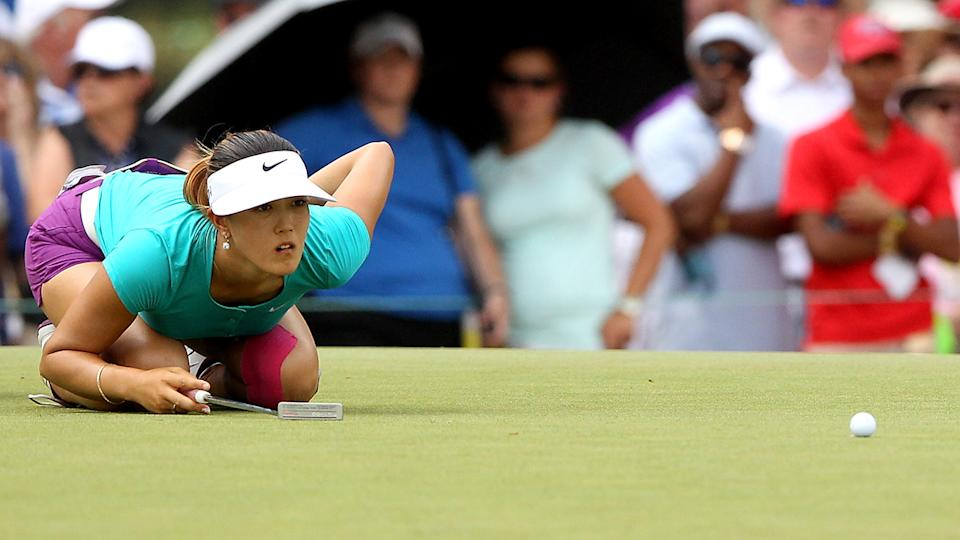 Michelle Wie, pictured here in action at the US Women's Open in 2014.