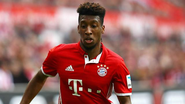 Bayern Munich winger Kingsley Coman is set to add to collection of league titles this season but would one day welcome a PSG return.