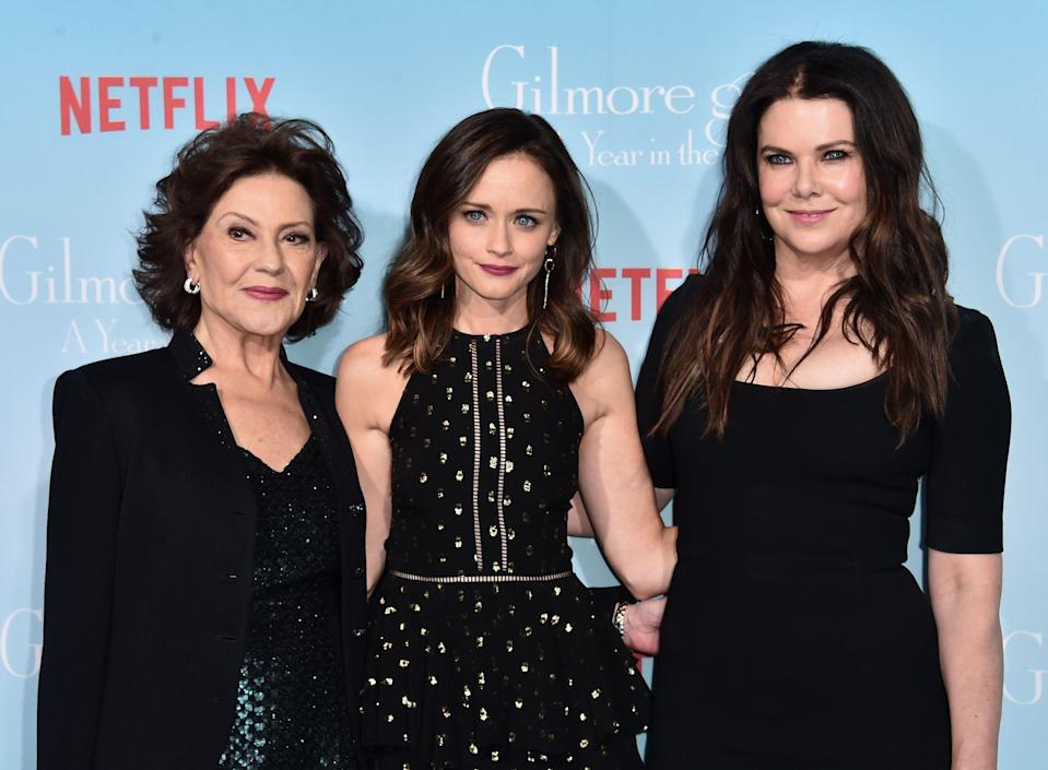Gilmore Girls cast at Netflix premiere of the revival