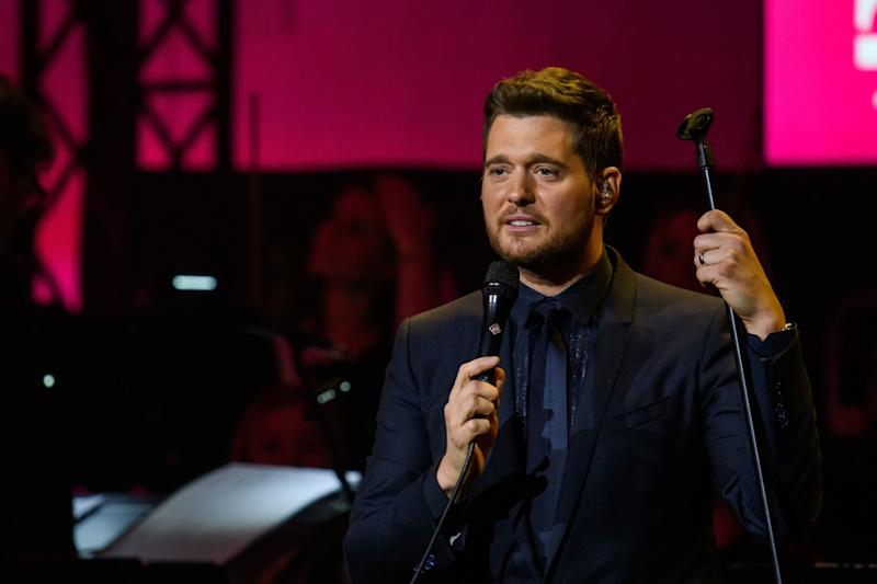 Michael Buble. Image via Getty Images.