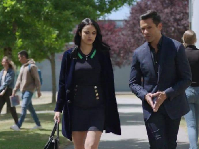 """Camila Mendes and Mark Consuelos on """"Riverdale."""""""