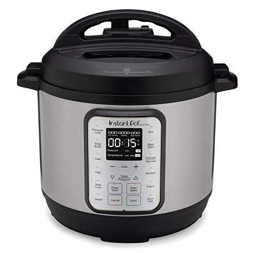 Instant Pot Duo Plus 6 Quart 9-in-1 Electric Pressure Cooker, Slow Cooker, Rice Cooker, Steamer…