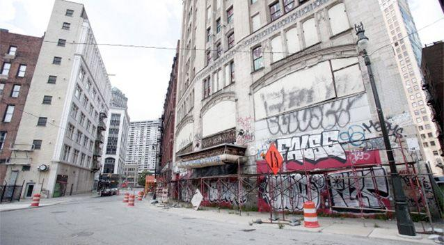 Detroit once featured a thriving middle class neighbourhood that has sunk into what many regard as wasteland. Photo: Getty.