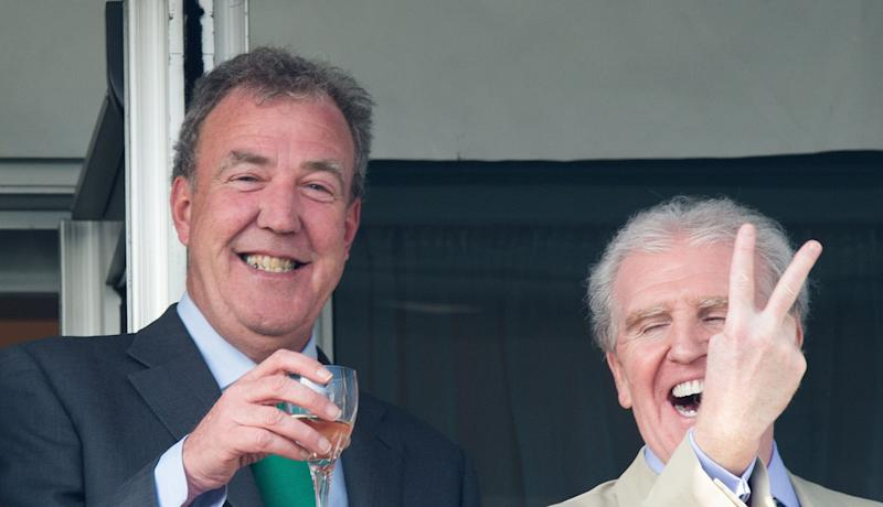 "Seemingly stuck in 1945 when his behaviour would be considered a <em>bloody good romp</em>, Jeremy Clarkson was at the centre of two race rows this year after using the term <a href=""http://www.huffingtonpost.co.uk/2014/03/28/jeremy-clarkson-slope-slur-bbc-sued_n_5049629.html"" target=""_blank"">""Slope""</a> in an episode of Top Gear and singing a <a href=""http://www.huffingtonpost.co.uk/2014/05/01/jeremy-clarkson-begs-forgiveness_n_5249056.html"" target=""_blank"">not-so-politically-correct version of eeny-meeny</a> during filming."