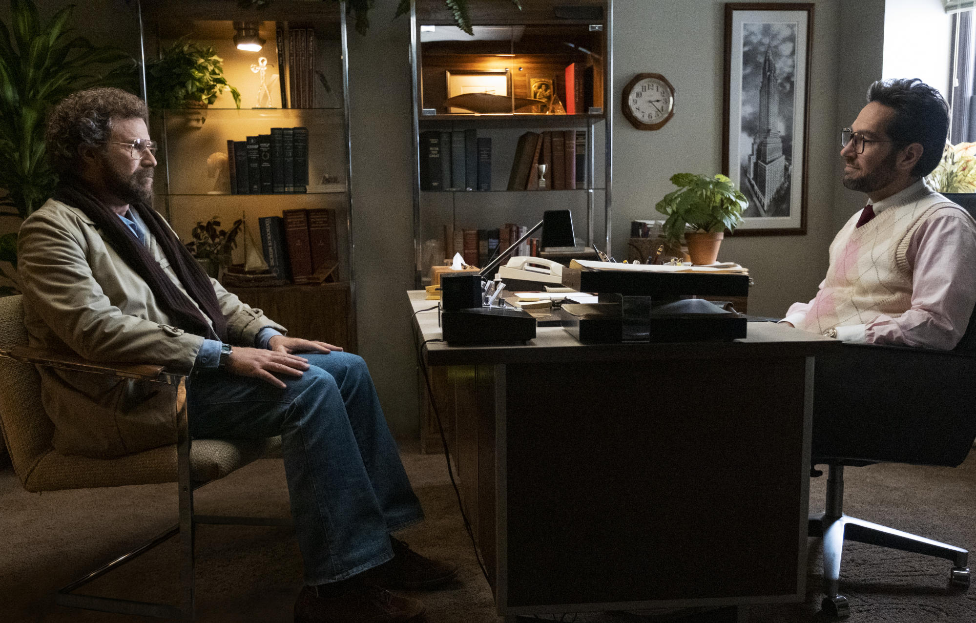 Paul Rudd and Will Ferrell unrecognisable in first look at 'The Shrink Next Door'