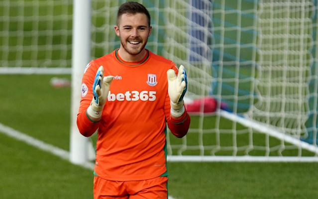 <span>Jack Butland could return for Stoke after a 13-month lay-off</span>