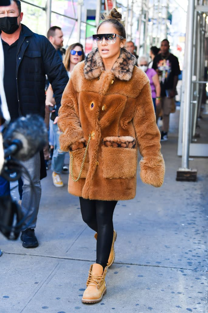 Jennifer Lopez steps out and about in New York, Sept. 24. - Credit: Robert O' Neil/Splash News