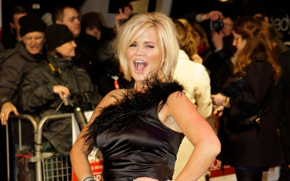 Kerry Katona, among a slew of other celebrities, has recently joined the site - AP/Joel Ryan