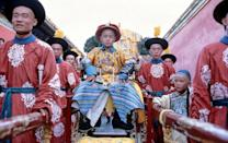 <p>Bernardo Bertolucci's biopic about Chinese ruler Puyi put up some royal numbers in 1988, winning Best Picture, Best Director and Best Adapted Screenplay, among other awards. (Photo: Everett) </p>