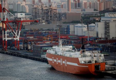 Japan exports seen shrinking for eighth month in July, core inflation weak: Reuters poll