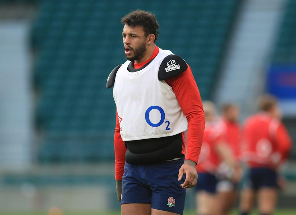 Courtney Lawes will play no more part in the Six Nations (Reuters)