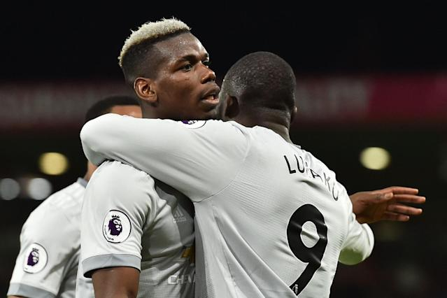 Manchester United boss Jose Mourinho approves of Paul Pogba as man of the match after win over Bournemouth