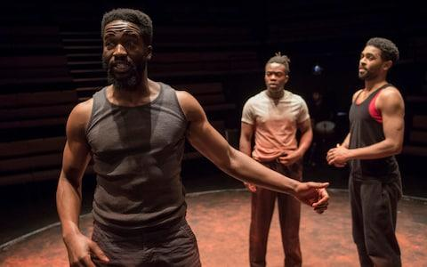 The Brothers Size at the Young Vic - Credit: Alastair Muir