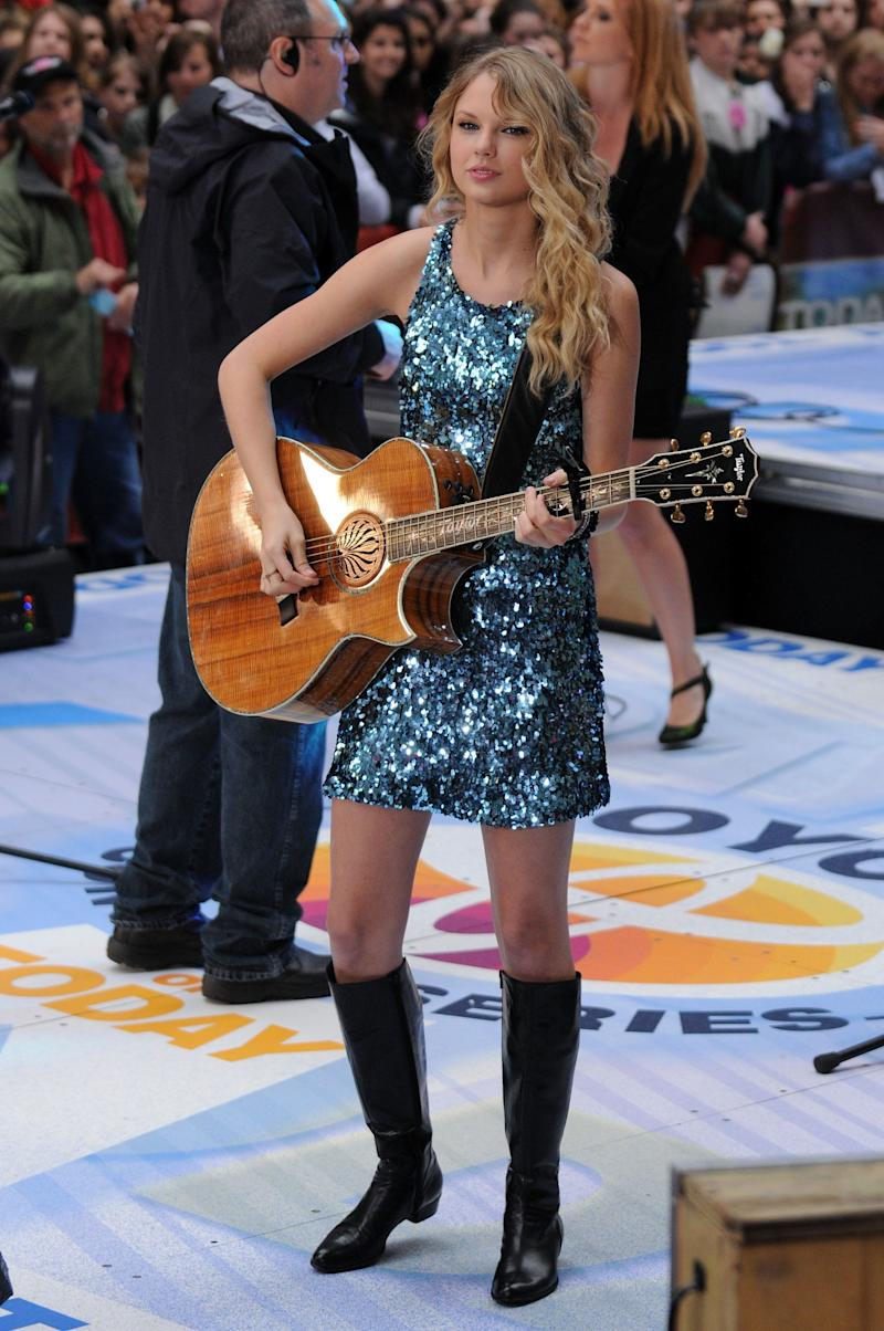 "Performing on NBC's ""Today"" on May 29, 2009, in New York City."