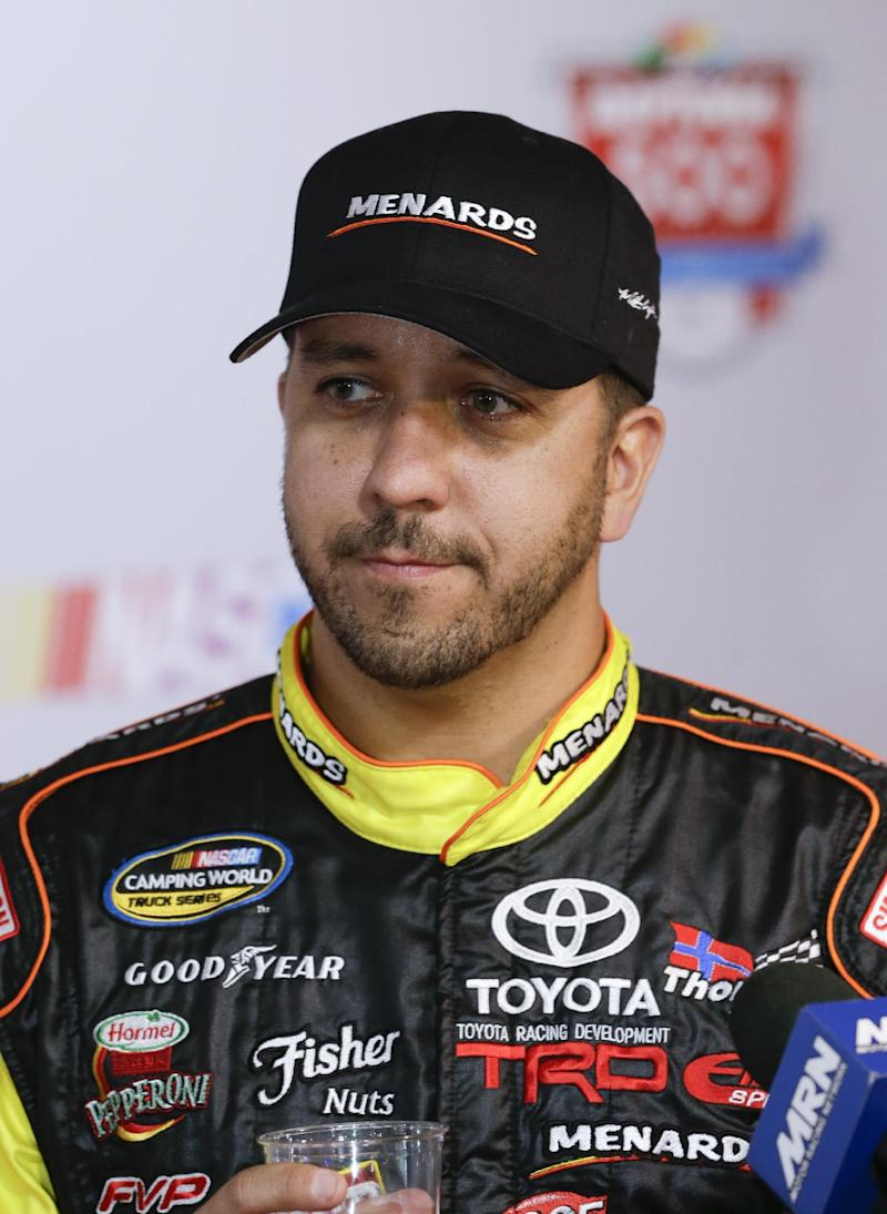 Matt Crafton wins Truck race