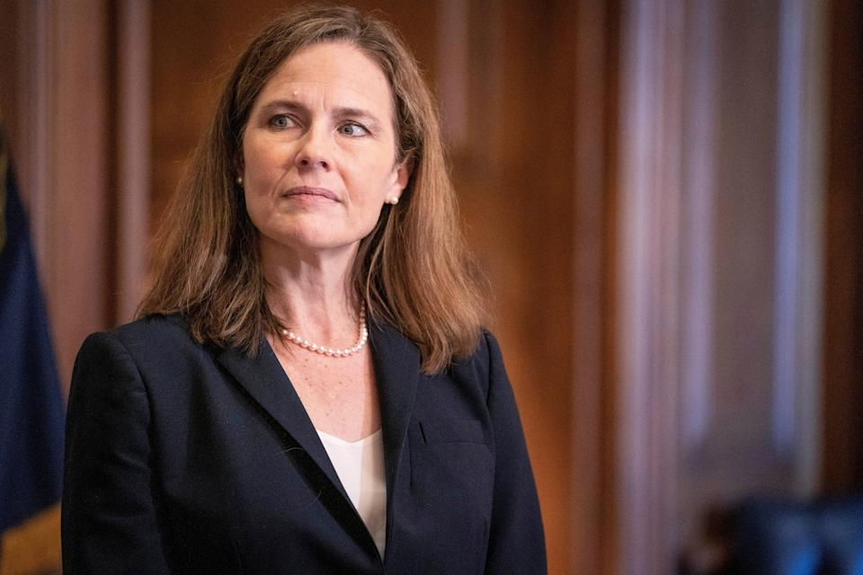 Amy Coney Barret, indicada de Trump à Suprema Corte dos EUA. (Photo: POOL New / Reuters)