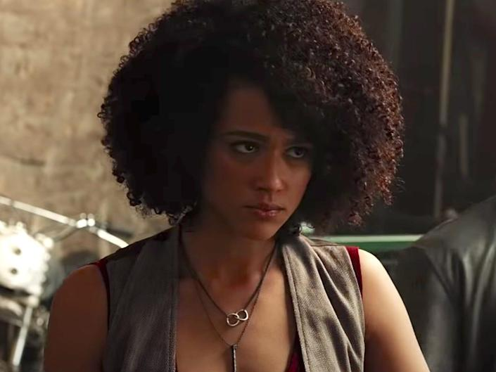 Ramsey Fate of the Furious movie Nathalie Emmanuel Universal