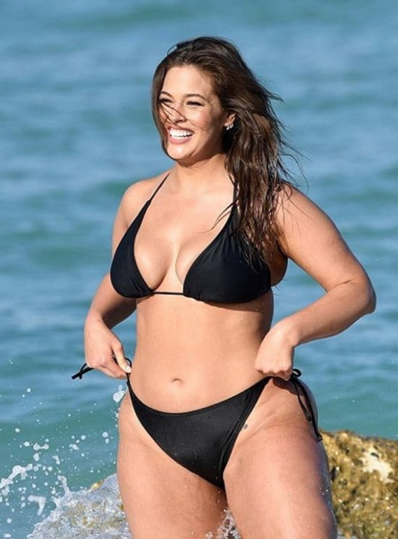 Wikipedia Tiffany Haddish >> Ashley Graham teases new swimsuit collection