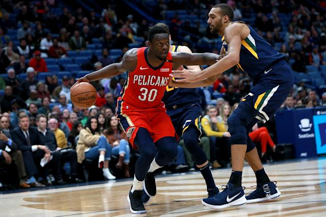 Julius Randle is reportedly headed to the Knicks. (Getty)