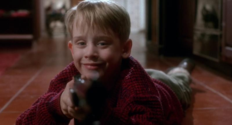 Sweet, innocent Kevin - Macaulay Culkin in 'Home Alone' (credit: 20th Century Fox)