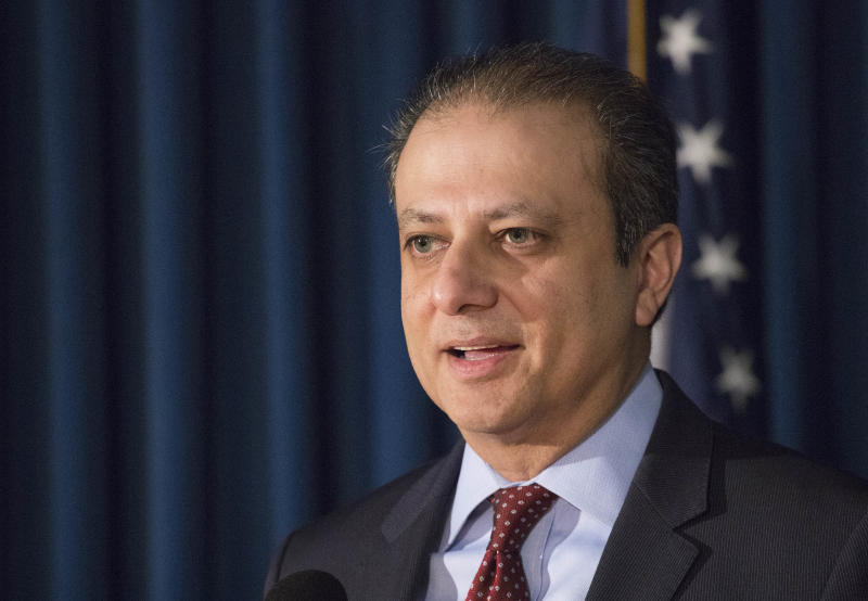 Preet Bharara Takes Aim at Trump with Sharp Jokes During Speech