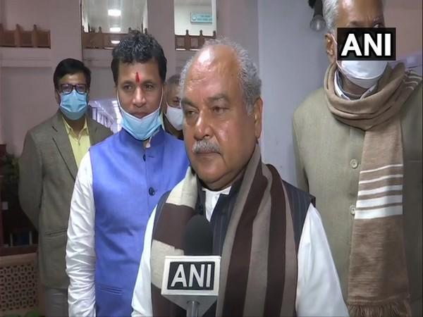 Union Agriculture Minister Narendra Singh Tomar (Photo/ANI)
