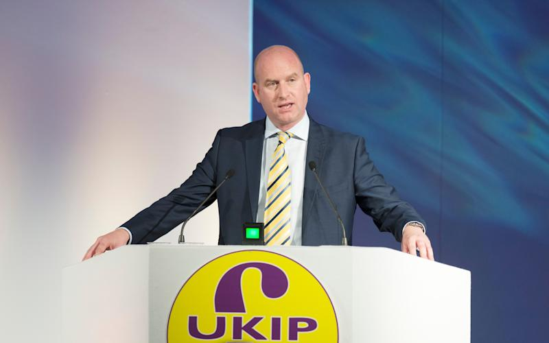 The Ukip leader - Credit: Geoff Pugh
