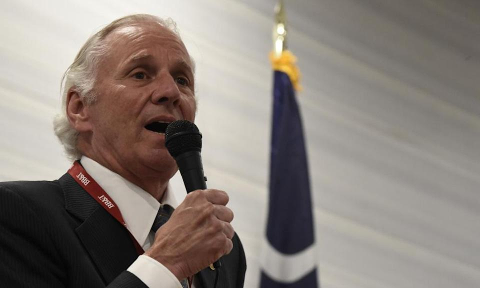 Governor Henry McMaster of South Carolina has vowed to fight Joe Biden's vaccine mandates 'to the gates of hell'.