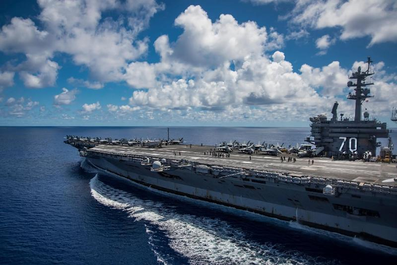 North Korea now in 'striking range' of Carl Vinson Carrier Strike Group