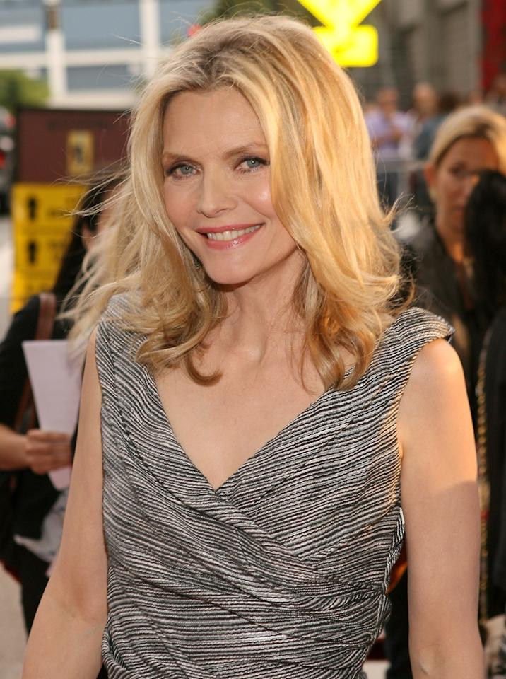 LOS ANGELES, CA - JUNE 15:  Actress Michelle Pfeiffer attends the 2012 Los Angeles Film Festival Premiere of 'People Like Us' at Regal Cinemas L.A. LIVE Stadium 14 on June 15, 2012 in Los Angeles, California.  (Photo by Jesse Grant/Getty Images)