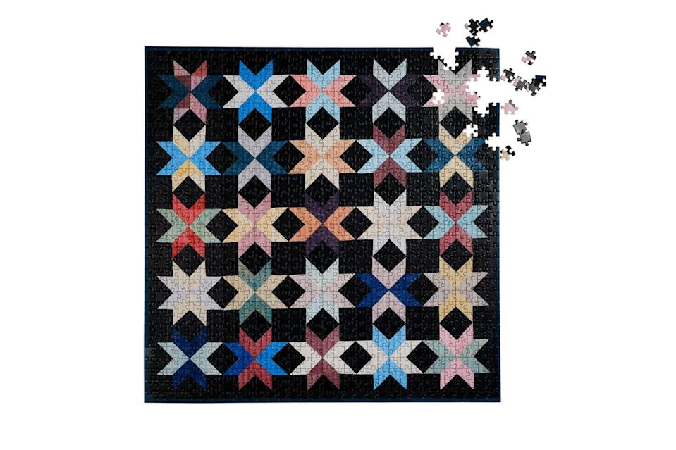"""$25, Four Point Puzzles. <a href=""""https://fourpointpuzzles.com/products/new-york-quilt"""" rel=""""nofollow noopener"""" target=""""_blank"""" data-ylk=""""slk:Get it now!"""" class=""""link rapid-noclick-resp"""">Get it now!</a>"""