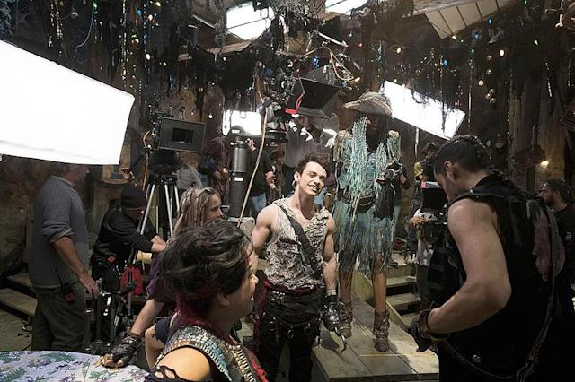 "<p>A shot with the wonderful @chinamcclain. Our last day on set of #Descendants2, and what a way to go! Sharing the screen with these magnificent people, giving our all during ""What's My Name"" — euphoria all around. I miss that hook… — @thomasadoherty<br><br>(Photo: Thomas Doherty via Instagram) </p>"