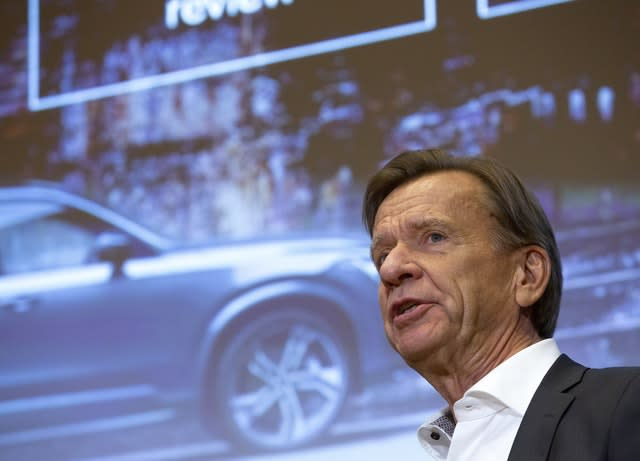 Hakan Samuelsson, president and chief executive of Volvo Car Group
