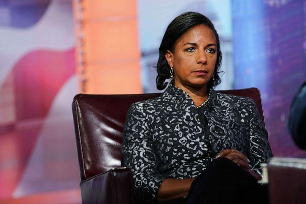 PHOTO: Susan Rice is seen during a Bloomberg Television interview in New York, U.S., on Tuesday, Oct. 8, 2019. Rice discussed her book 'Tough Love.' (Christopher Goodney/Bloomberg via Getty Images)