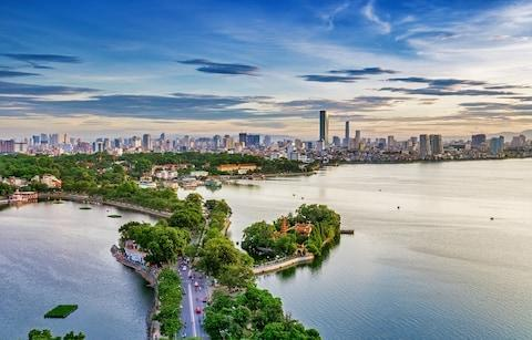 Hanoi cityscape - Credit: Getty