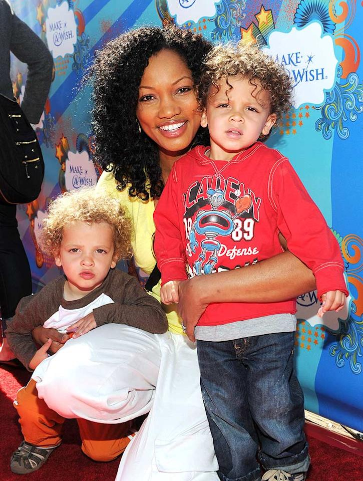 """NYPD Blue"" vet Garcelle Beauvais-Nilon made the day a family affair by bringing along her 2-year-old twins, Jax and Jaid. How cute are they?! Michael Buckner/<a href=""http://www.gettyimages.com/"" target=""new"">GettyImages.com</a> - March 14, 2010"