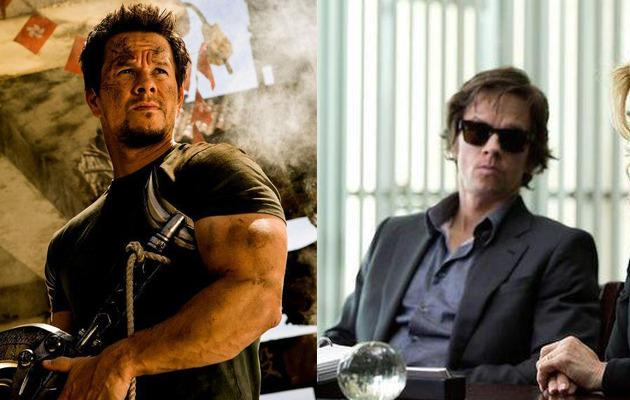 """<p>Marky Mark transformed himself (pun intended) for 'The Gambler' with a """"medically supervised liquid diet,"""" losing a whopping 27 kilograms for the role. Bye bye Marky Mark, hello Skinny Mark.</p>"""