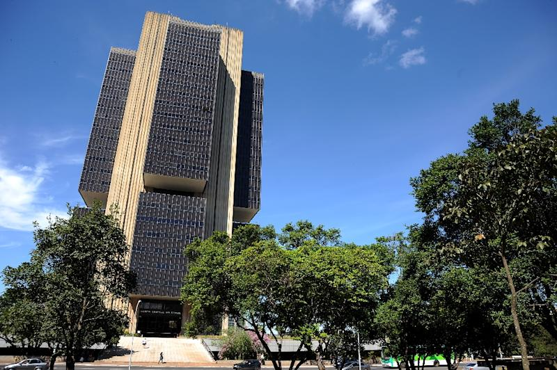 Brazil's cental bank cut its interest rate to 14 percent, down for the first time in three years