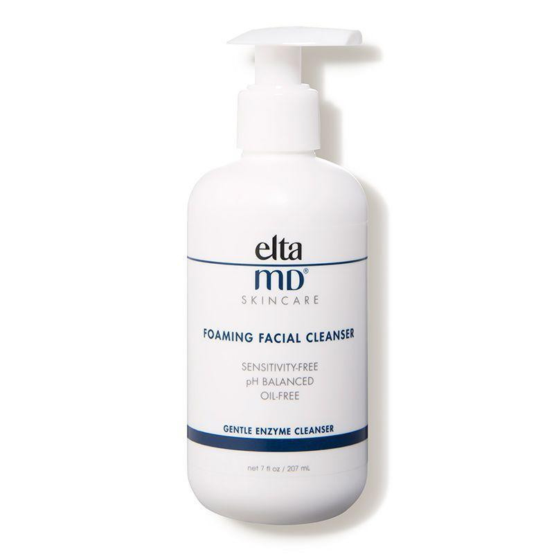 """<p>If your skin is both sensitive and acne-prone, Elta MD's foaming cleanser will deep-clean without leaving the skin feeling stripped and tight (thanks to ph-balancing properties). Just one pump of this cleanser, which uses enzymes found in pineapple to reduce inflammation and slough away dead skin cells, works for the entire face.</p><p><strong>EltaMD</strong> Foaming Facial Cleanser, $27.50, dermstore.com. </p><p><a class=""""link rapid-noclick-resp"""" href=""""https://go.redirectingat.com?id=74968X1596630&url=https%3A%2F%2Fwww.dermstore.com%2Fproduct_Foaming%2BFacial%2BCleanser_32762.htm&sref=https%3A%2F%2Fwww.harpersbazaar.com%2Fbeauty%2Fskin-care%2Fg11653081%2Fbest-acne-products%2F"""" rel=""""nofollow noopener"""" target=""""_blank"""" data-ylk=""""slk:SHOP"""">SHOP</a><br></p>"""