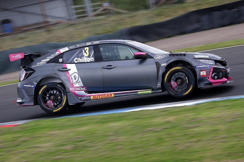 Cammish recovers from off for Thruxton pole position