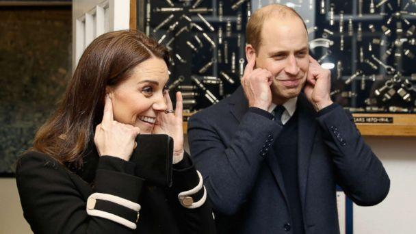 PHOTO: Prince William, Duke of Cambrige and Catherine, Duchess of Cambridge visit Acme Whistles in Birmingham, England, on Nov. 22, 2017. (Chris Jackson/Getty Images)