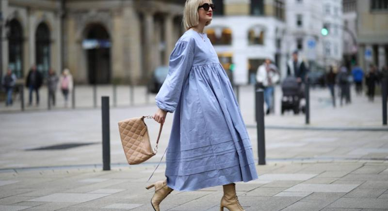 Best long-sleeved dresses for spring [Photo: Getty]