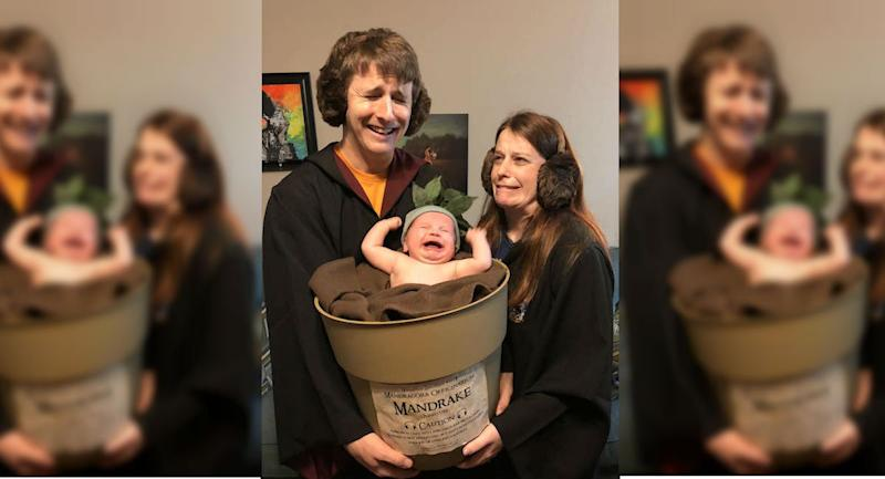 This Family S Harry Potter Halloween Costume Is Absolute Magic