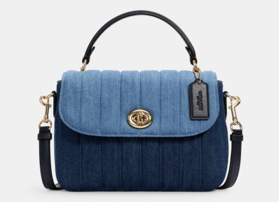 Marlie Top Handle Satchel With Quilting. Foto: Coach Outlet.